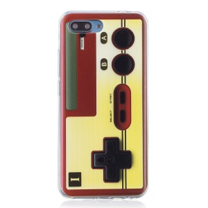 Pattern Printing Flexible TPU Cell Phone Case for Huawei Honor 10 - Game Controller