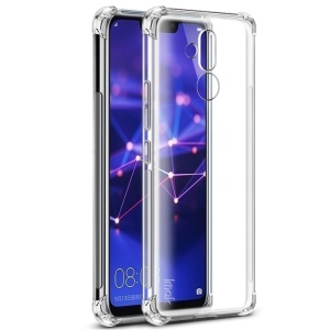 IMAK Skin Feel Anti-drop TPU Shell + Explosion-proof Screen Film for Huawei Mate 20 Lite / Maimang 7 - Transparent