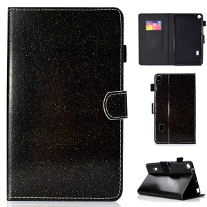Flash Powder PU Leather Tablet Casing for Huawei MediaPad T3 7 WiFi Version - Black