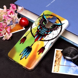 Noctilucent IMD TPU Cell Phone Case for Huawei Mate 20 Lite / Maimang 7 - Style G