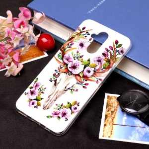 Noctilucent IMD TPU Cell Phone Case for Huawei Mate 20 Lite / Maimang 7 - Style I