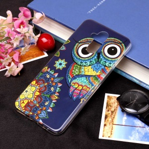 Noctilucent IMD TPU Cell Phone Case for Huawei Mate 20 Lite / Maimang 7 - Style J
