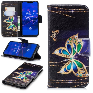 Rhinestone Decor Butterfly