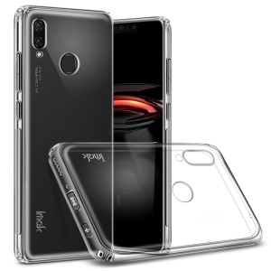 IMAK Anti-Drop TPU Tasche + Displayschutzfolie Für Huawei P Smart + / Nova 3i - Transparent