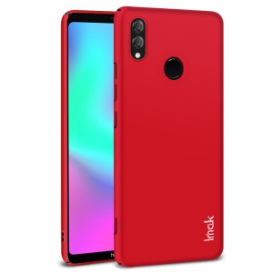 IMAK Jazz Skin Feel Hard Plastic Case + Screen Protector Film for Huawei Honor Note 10 - Red