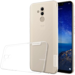 NILLKIN Nature 0.6mm Soft TPU Cell Phone Case for Huawei Mate 20 Lite / Maimang 7 - White
