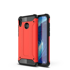 Armor Guard Plastic + TPU Hybrid Back Casing for Huawei Honor 8X Max - Red