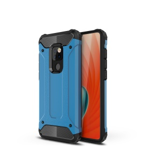 Armor Guard Plastic + TPU Hybrid Protection Case for Huawei Mate 20 - Baby Blue