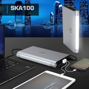 SUNGZU SKA100 220V Portable Power Bank 100W 27000mAh Emergency Power Supply with LED Light