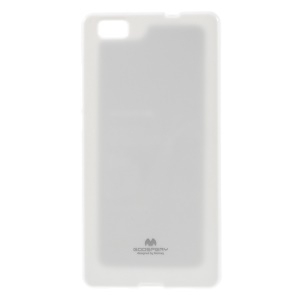 MERCURY GOOSPERY Flash Powder TPU Shell Case for Huawei Ascend P8 Lite - White
