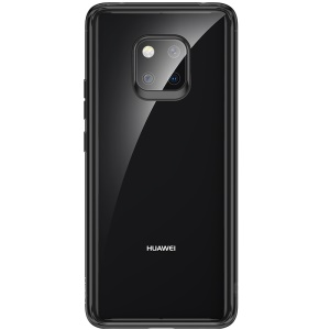ROCK Ultra-thin TPU PC Crystal Clear Hybrid Mobile Case (Support Wireless Charging) for Huawei Mate 20 Pro - Black