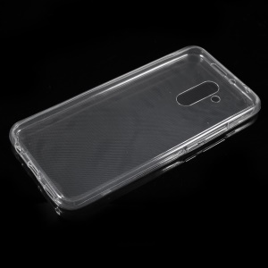 2-in-1 Touchable All-wrapped Soft TPU Cell Phone Case for Huawei Mate 20 Lite - Transparent