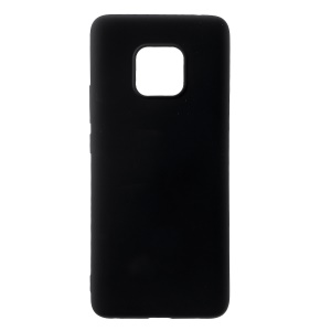 All Wrapped Back and Edges Liquid Silicone Phone Cover for Huawei Mate 20 Pro - Black