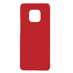 For Huawei Mate 20 Pro Rubberized Hard Plastic Back Case - Red