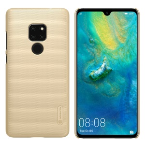 NILLKIN [Super Frosted] Shield PC Protection Case for Huawei Mate 20 - Gold
