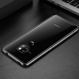 BASEUS Shining Series Plated TPU Case for Huawei Mate 20 - Black