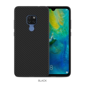 NILLKIN Synthetic Fiber Hard Plastic Case for Huawei Mate 20 - Black