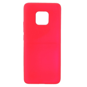 Matte Skin-touch TPU Protective Phone Case for Huawei Mate 20 Pro - Red