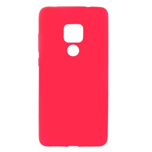 For Huawei Mate 20 Skin-touch Matte TPU Soft Mobile Case - Red