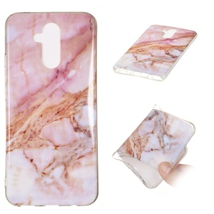 Marble Pattern IMD TPU Case for Huawei Mate 20 Lite - Style A