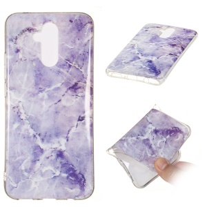 Marble Pattern IMD Soft TPU Case for Huawei Mate 20 Lite - Style H