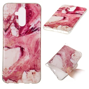Marble Pattern IMD TPU Protective Case for Huawei Mate 20 Lite - Style J