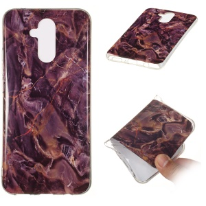Marble Pattern IMD TPU Gel Case for Huawei Mate 20 Lite - Style N