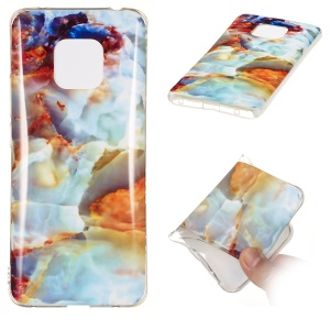 [Marble Pattern] IMD TPU Protective Shell for Huawei Mate 20 Pro - Style R