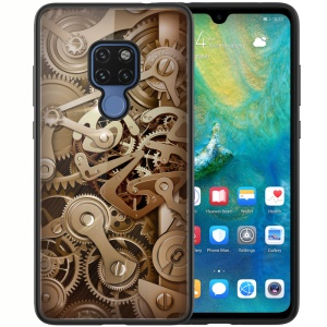 NILLKIN Gear Case for Huawei Mate 20 Tempered Glass + PC + TPU Hybrid Phone Cover