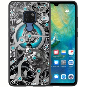 NILLKIN Spacetime Case for Huawei Mate 20 PC TPU Tempered Glass Combo Phone Cover