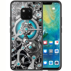 NILLKIN Spacetime Case for Huawei Mate 20 Pro PC TPU Tempered Glass Hybrid Phone Case