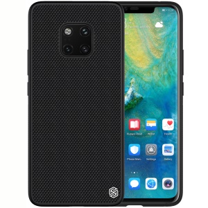 NILLKIN Textured Case for for Huawei Mate 20 Pro Anti-fingerprint PC TPU Hybrid Phone Cover