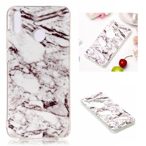 Marble Pattern IMD TPU Cover for Huawei Honor 8X - Style B