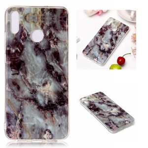 Marble Pattern IMD TPU Phone Case for Huawei Honor 8X - Style D