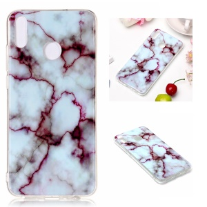 Marble Pattern IMD TPU Shell for Huawei Honor 8X - Style E