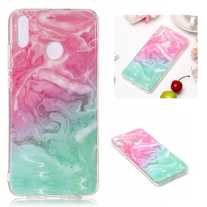 Marble Pattern IMD TPU Cell Phone Case for Huawei Honor 8X - Style F