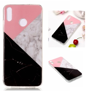 Marble Pattern IMD TPU Mobile Phone Case for Huawei Honor 8X - Style G