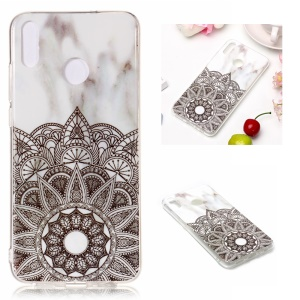 Marble Pattern IMD TPU Soft Case for Huawei Honor 8X - Style H