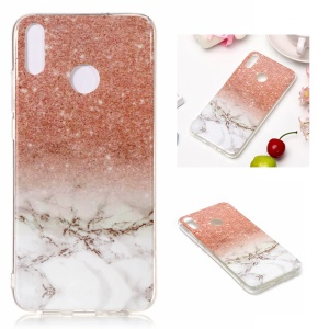 Marble Pattern IMD TPU Cover Shell for Huawei Honor 8X - Style I