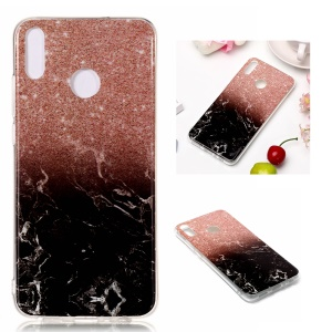 Marble Pattern IMD TPU Mobile Phone Case for Huawei Honor 8X - Style J