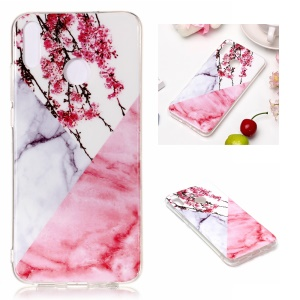 Marble Pattern IMD TPU Case Accessory for Huawei Honor 8X - Style K