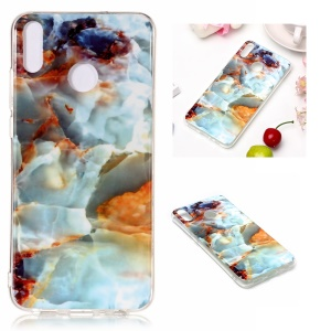 Marble Pattern IMD TPU Case Soft Shell for Huawei Honor 8X / Honor View 10 Lite - Style P