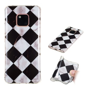 Pattern Printing IMD TPU Cell Phone Case for Huawei Mate 20 Pro - Style A
