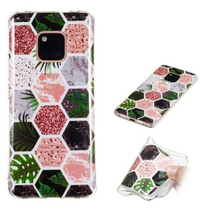 Pattern Printing IMD TPU Soft Shell for Huawei Mate 20 Pro - Style I
