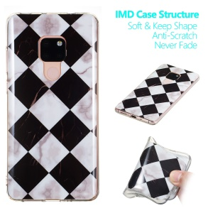 Marble Pattern IMD TPU Mobile Phone Case for Huawei Mate 20 - Style H