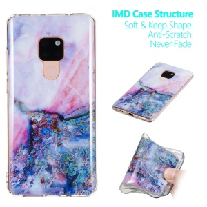 Marble Pattern IMD TPU Flexible Case for Huawei Mate 20 - Style I