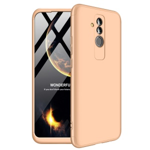 GKK Detachable 3-Piece Matte Hard Cover Case for Huawei Mate 20 Lite - Gold