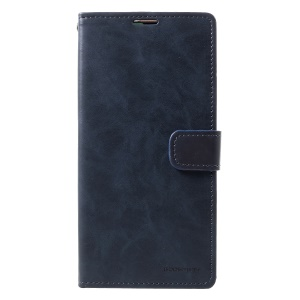 MERCURY GOOSPERY Blue Moon Stand Leather Case Accessory for Huawei Mate 20 -  Dark Blue