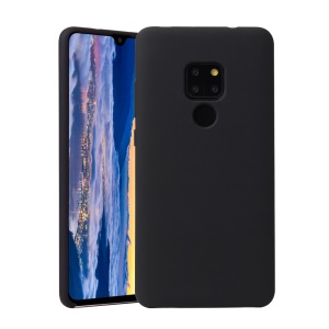 Liquid Silicone Mobile Case for Huawei Mate 20 - Black
