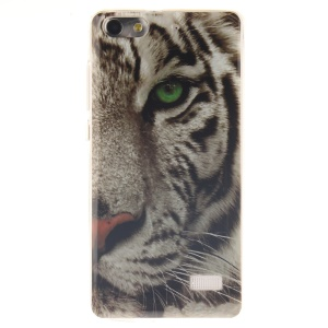 IMD Soft TPU Gel Phone Cover for Huawei Honor 4C - Raging Tiger